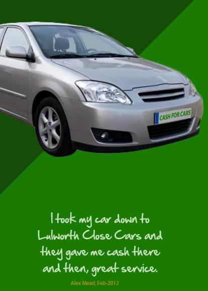 cash for cars poole bournemouth in dorset lulworth close cars. Black Bedroom Furniture Sets. Home Design Ideas